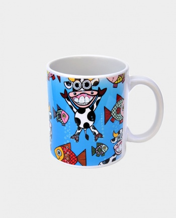 Tazza Vacquario Bob Art by Bob Marongiu